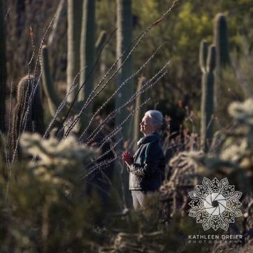 04/16/16_StandingWithSaguaros_SunriseOpener, Tucson AZ